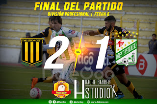 The Strongest 2 - Oriente Petrolero 1 - DaleOoo