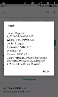 hasil image converter screenshoot