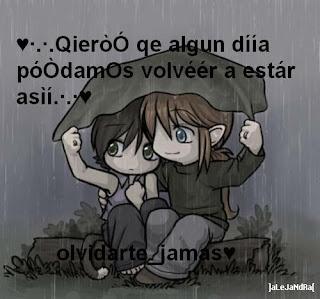 Imagenes de amor bajo la lluvia con frases romanticas