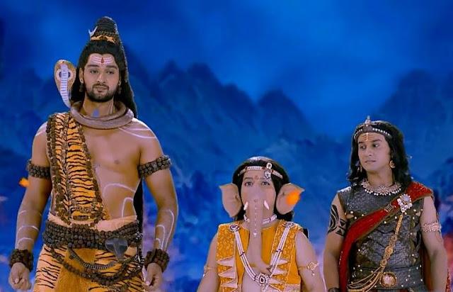 Sree Bhadrakali serial  -Lord Shiva and Parvathi