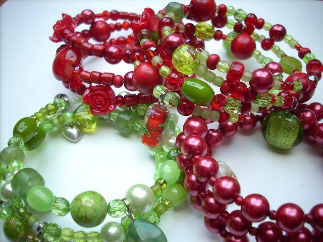Kerstarmbanden - Christmas Bracelets Kerstarmbanden - Christmas Bracelets Scraponique: Kerstarmbanden - Christmas Bracelets - 웹
