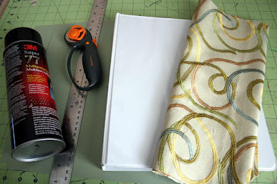 Monday Mini Project: Upcycled 3-Ring Binder