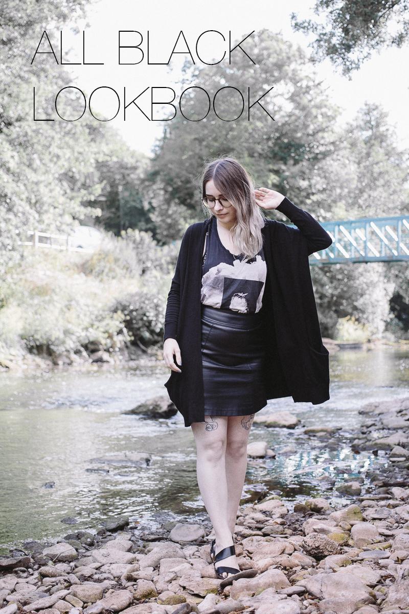 All Black Summer Lookbook Video