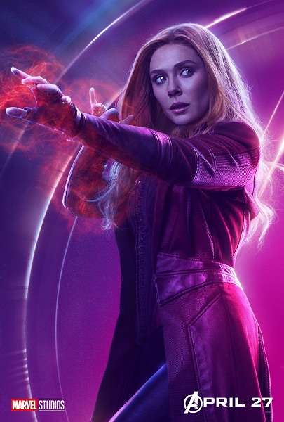 Avengers: Infinity War Scarlet Witch