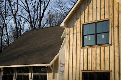 Off Grid Home Sweet Home Board And Batten Siding