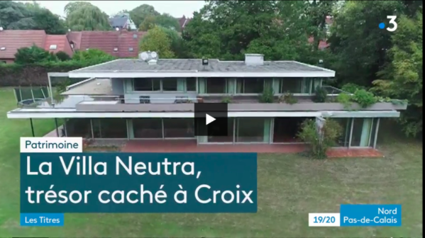 La Villa Neutra sur France 3