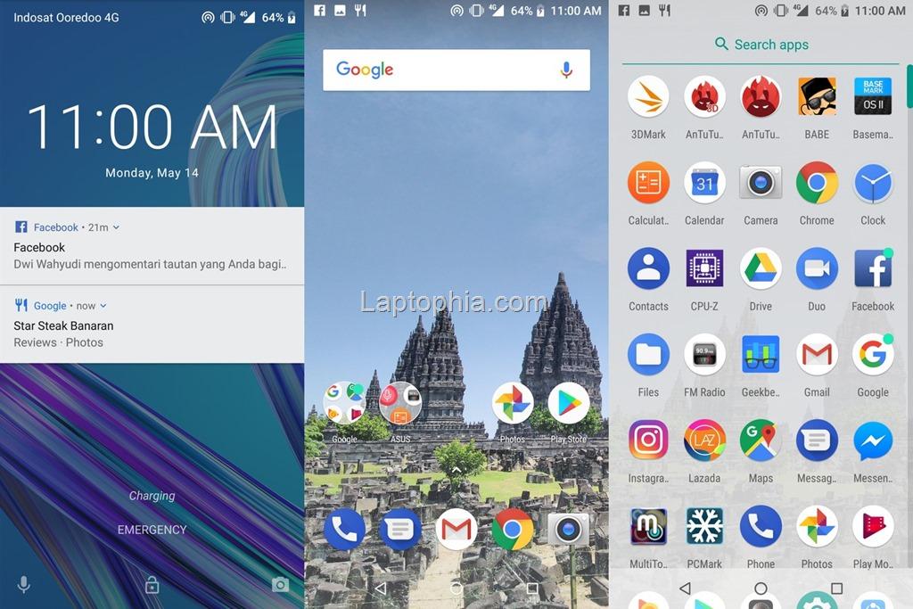 Software & Fitur Asus Zenfone Max Pro M1