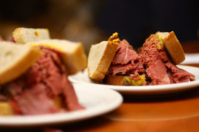 Sandwich boeuf fumé