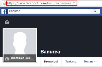 Alamat akun facebook