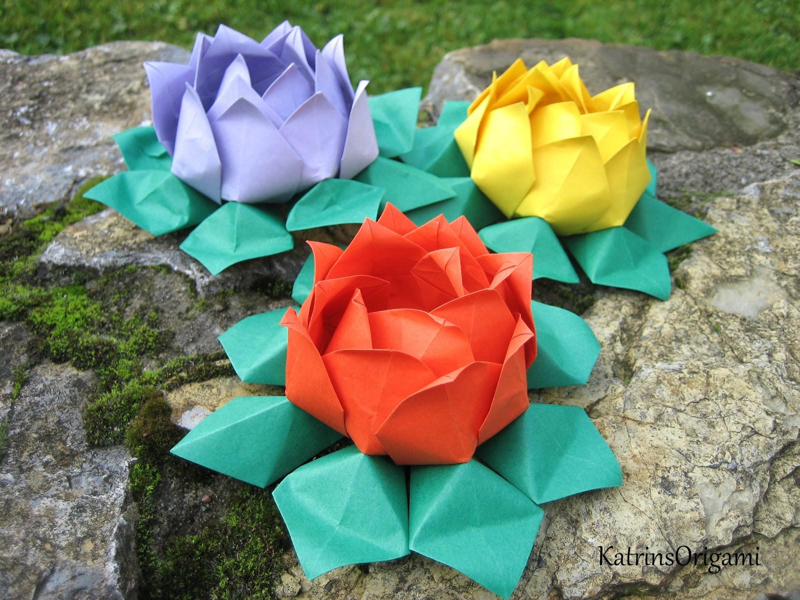 origami die kunst des papierfaltens oktober 2012. Black Bedroom Furniture Sets. Home Design Ideas
