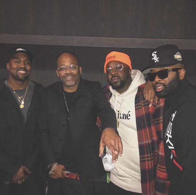 dame dash, Smoke Dza, Kanye West
