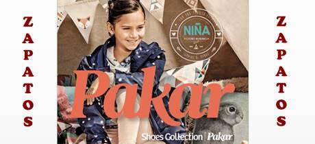 Catálogo Zapatos de Niña Pakar Otoño Invierno 2017