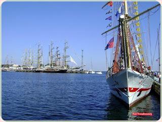 Gdynia Baltic Sea marina Sails