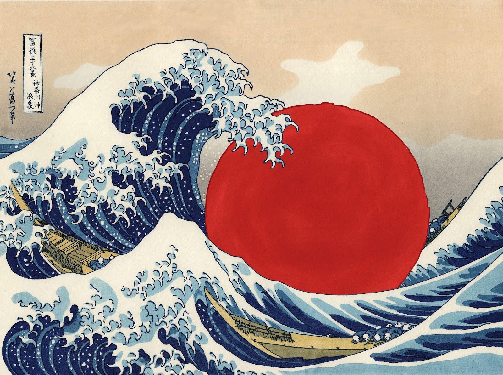 sandor laszlo design: The great wave off kanagawa – update ...