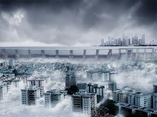 Resultado de imagen de ciudad inundada