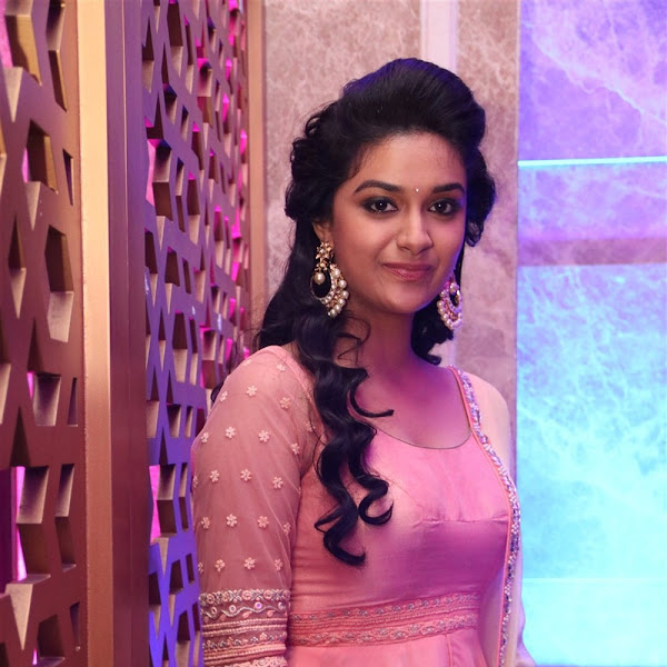Keerthy Suresh latest photos from Remo track launch
