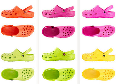 Zapatos Holeys al estilo Crocs