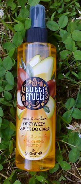 Tutti Frutti odżywczy olejek do ciała argan & awocado