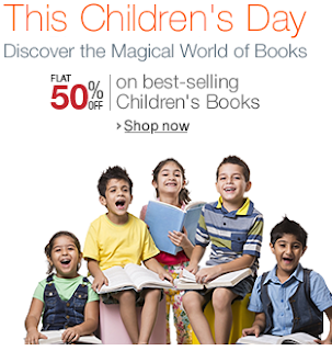 Children's Day Offer : Flat 50% off on best selling Children's book || Starting from Rs 45