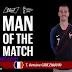 Antoine Griezmann nommé homme du match France Vs Australie (2-1)