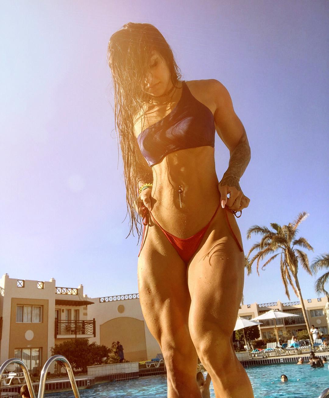 Бахар Набиева: «Мисс стальная попа» или девушка с самыми накаченными ногами