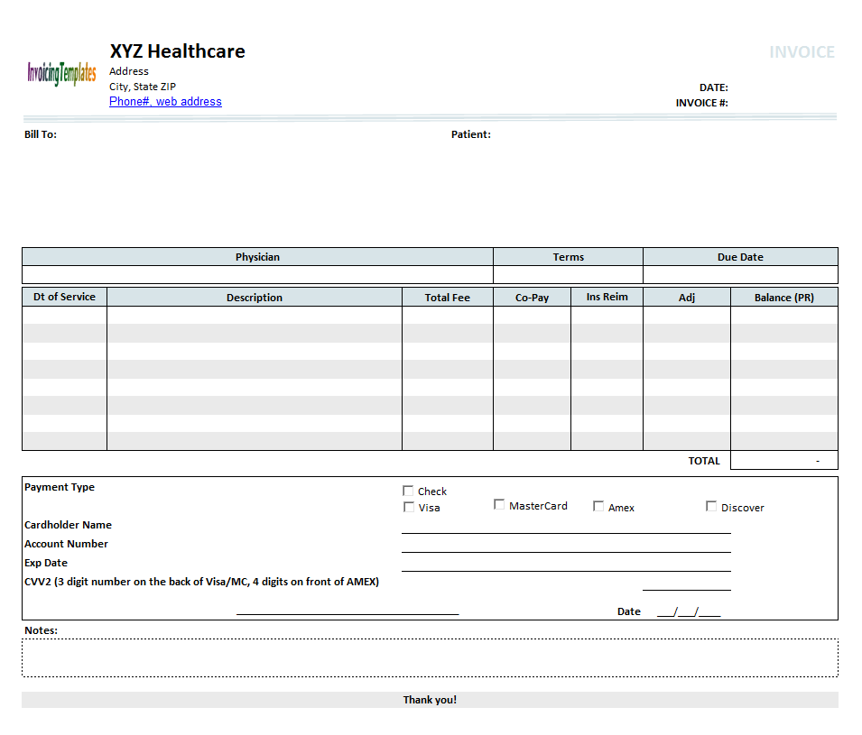 Rent Invoice Template. House Templates And Invoice Template On