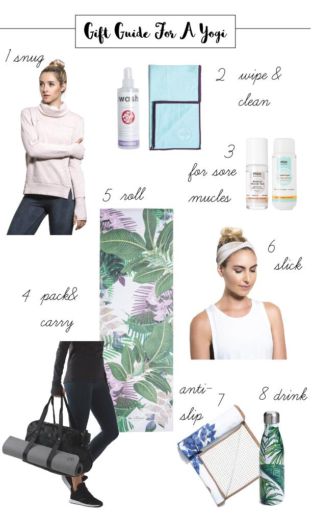 gift ideas for a yogi friend
