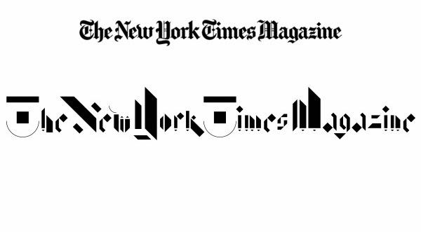 Balla Dora Typo-Grafika: Non-Format, The New York Times