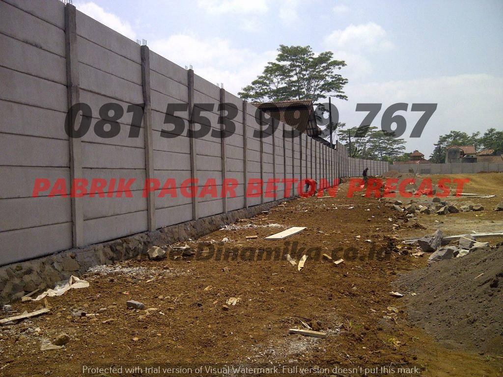 Harga Pagar Panel Beton Terpasang Malang, Pilar Beton Pagar Minimalis