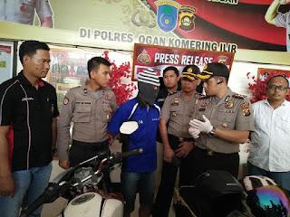 Polisi Lumpuhkan Begal Bersenpi