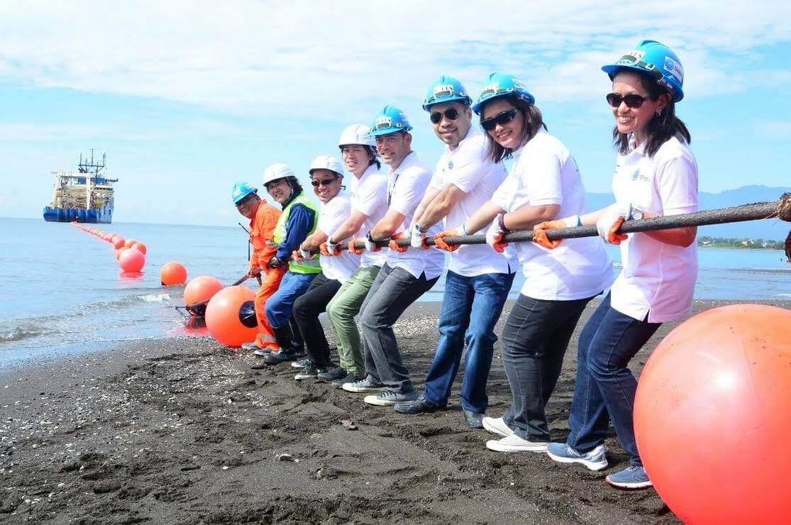 Globe's SEA-US Undersea Cable System Now Commercially Available, Directly Links Philippines to U.S.