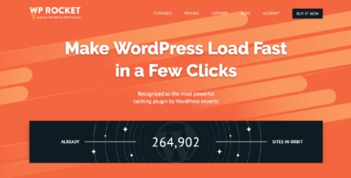 Free Download WP Rocket V3.4.0.5 Chacing Plugin For Wordpress