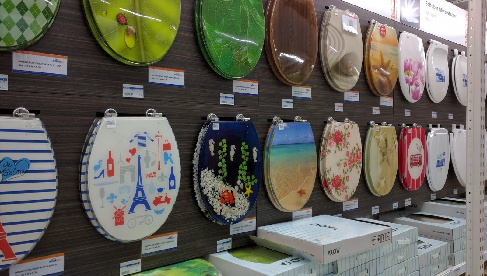 Strange Funky Toilet Seat Covers At Homepro Ioi City Mall Machost Co Dining Chair Design Ideas Machostcouk