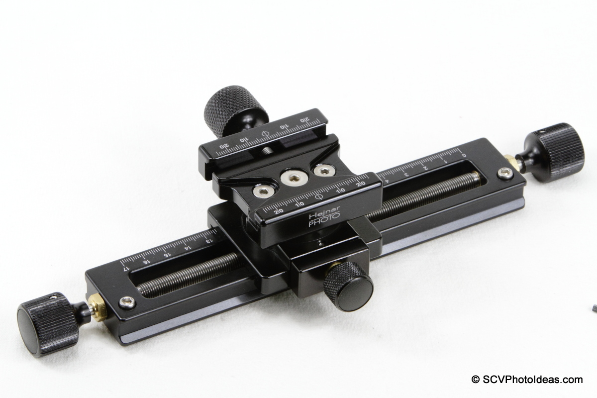Hejnar PHOTO MS-3 GMFR QR clamp at 90°