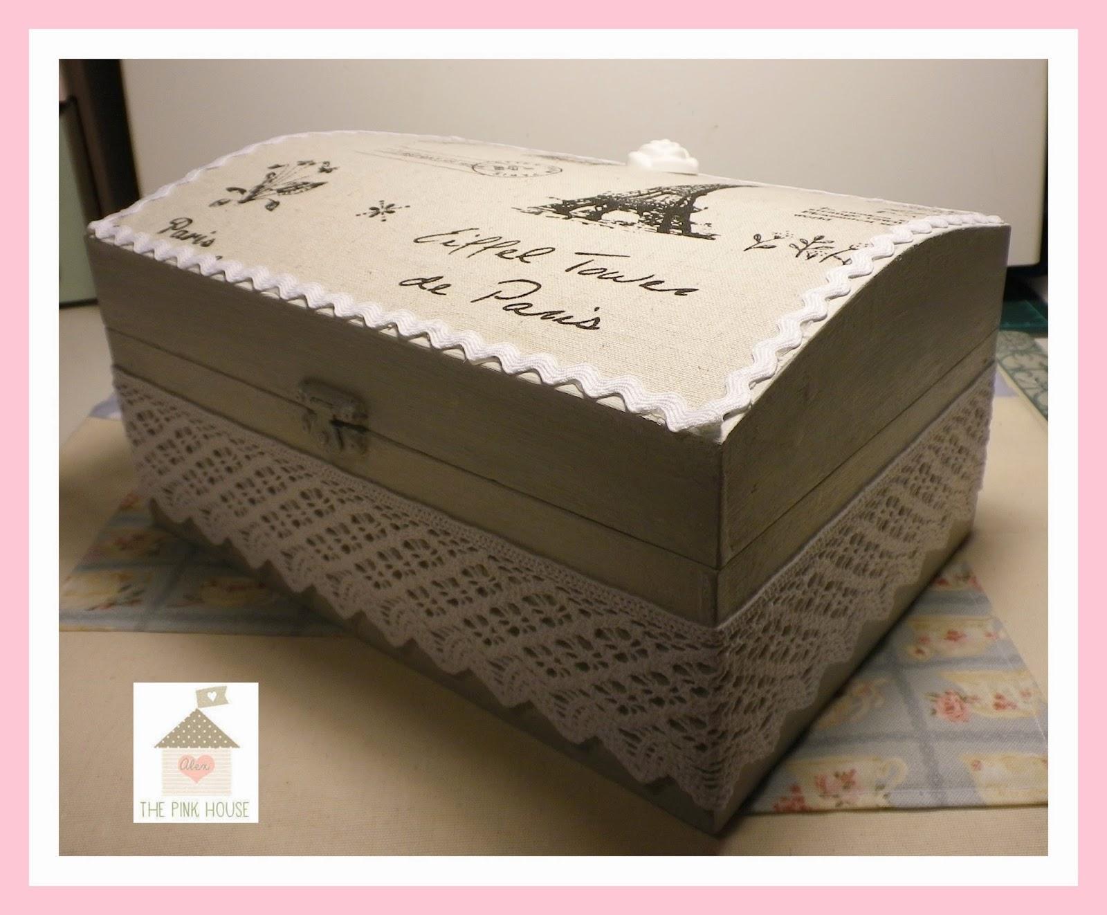 alex the pink house rivestire una scatola