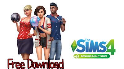 the sims 4 bowling night stuff free download