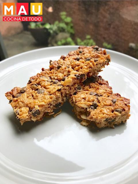 barritas de granola caseras receta chewy facil rapido