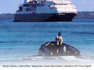 Polda Maluku Intensifkan Negosiasi untuk Selamatkan Sandera KM Mina Sejati