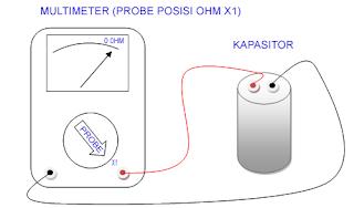 Cara cek kapasitor motor pompa air apakah masih bagus atau tidak