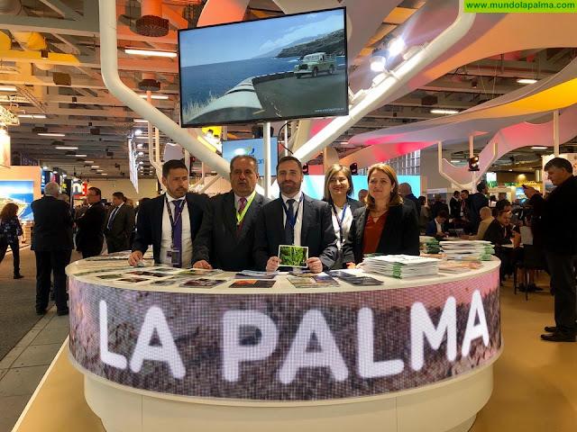 La Palma mantiene su apuesta por el mercado alemán y despliega su promoción turística en la ITB de Berlín