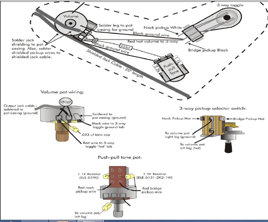 wiring diagram for eddie van halen kramer