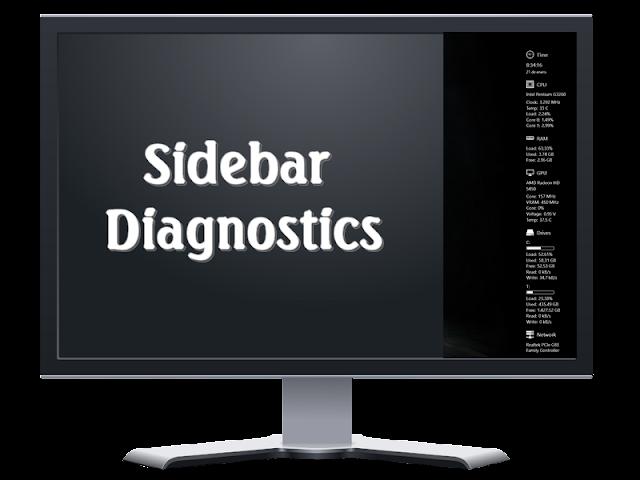 Sidebar Diagnostics 3.4.6 | La información del hardware de tu equipo en un sidebar lateral