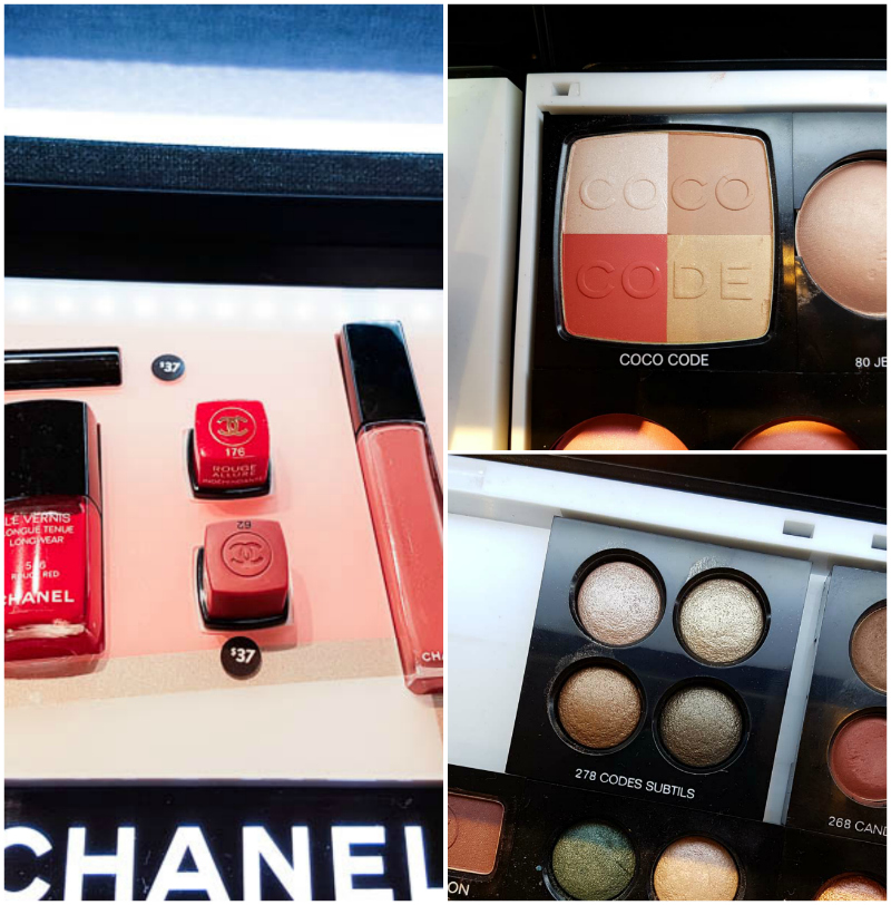 Chanel Coco Codes Spring 2017 Makeup Collection - Swatches