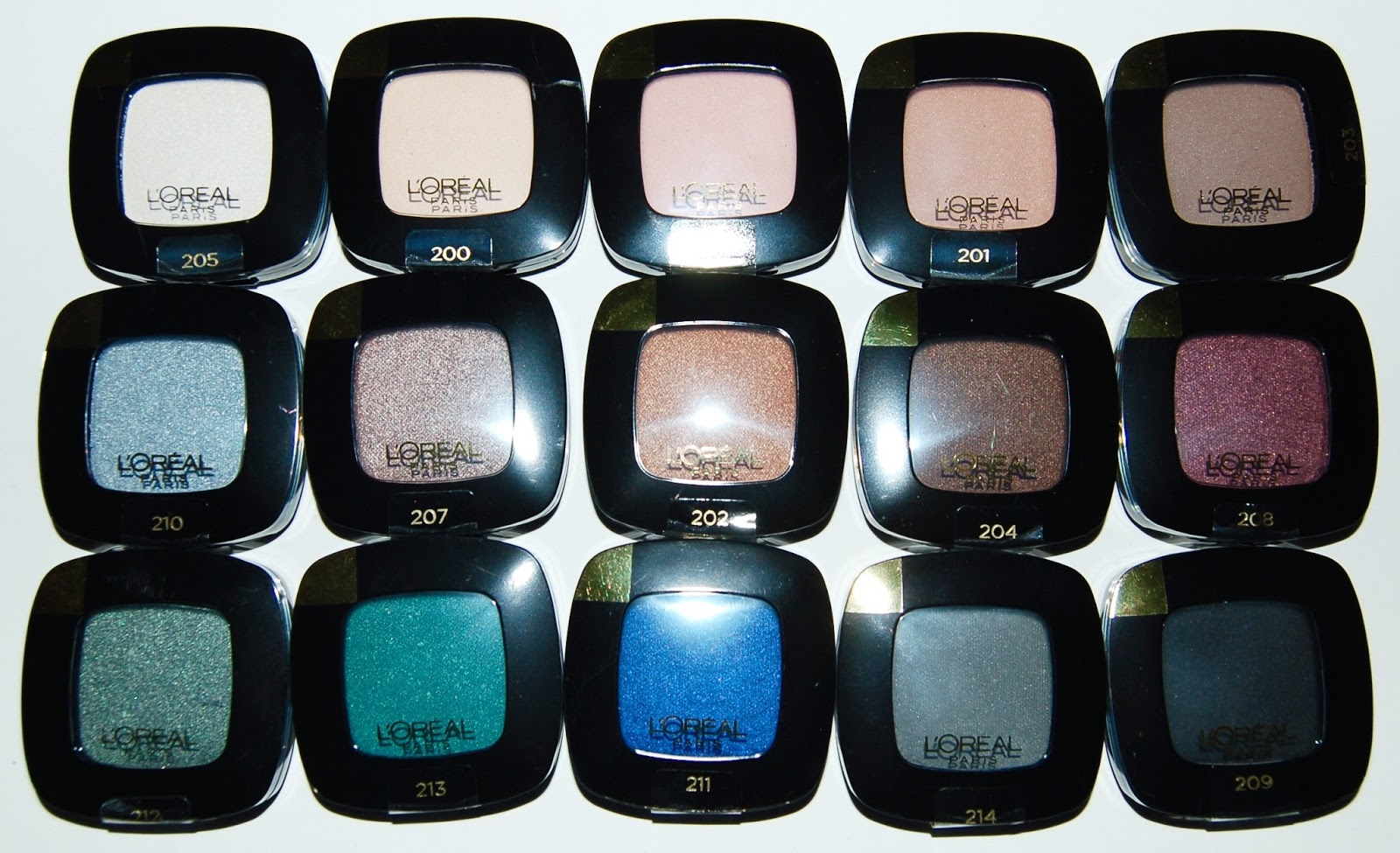 L'Oreal Colour Riche Eyeshadow Monos