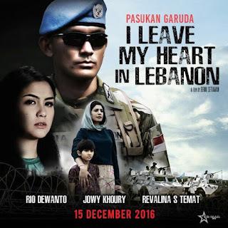 Sinopsis Film Pasukan Garuda: I Leave My Heart in Lebanon (2016)