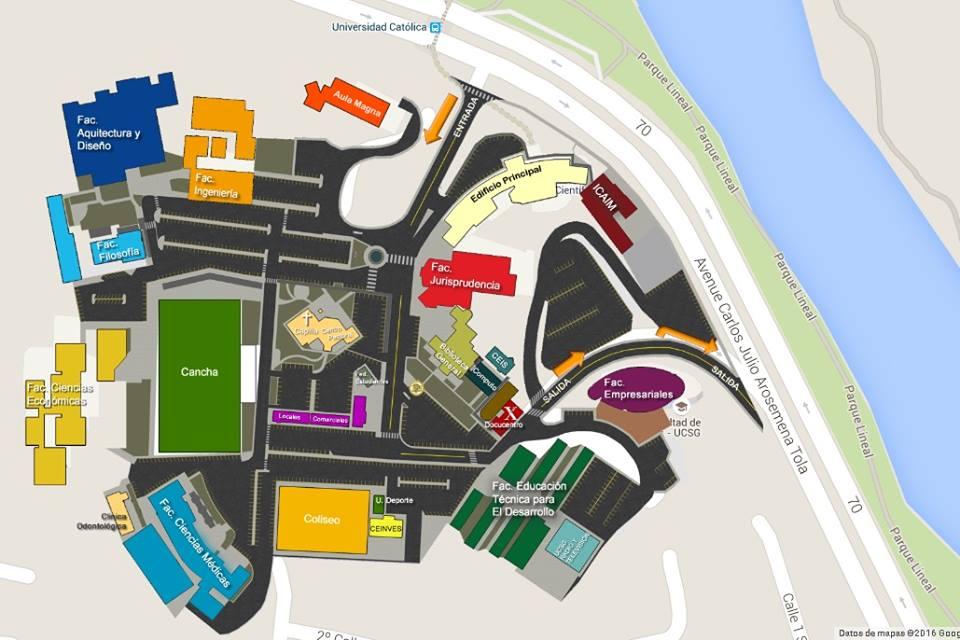 Bienvenidos al blog del comic club de guayaquil c mo for Mapa facultad de arquitectura
