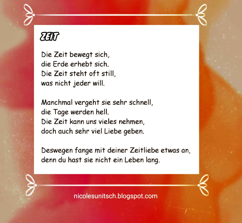 Gedicht Zu Zeit Gedichte Zum Ruhestand 2020 04 14