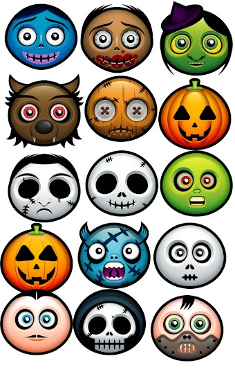 Halloween 03 by deleket.com (42 icons)