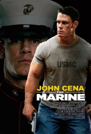 Poster Of The Marine 2006 720p Hindi BRRip Dual Audio Full Movie Download