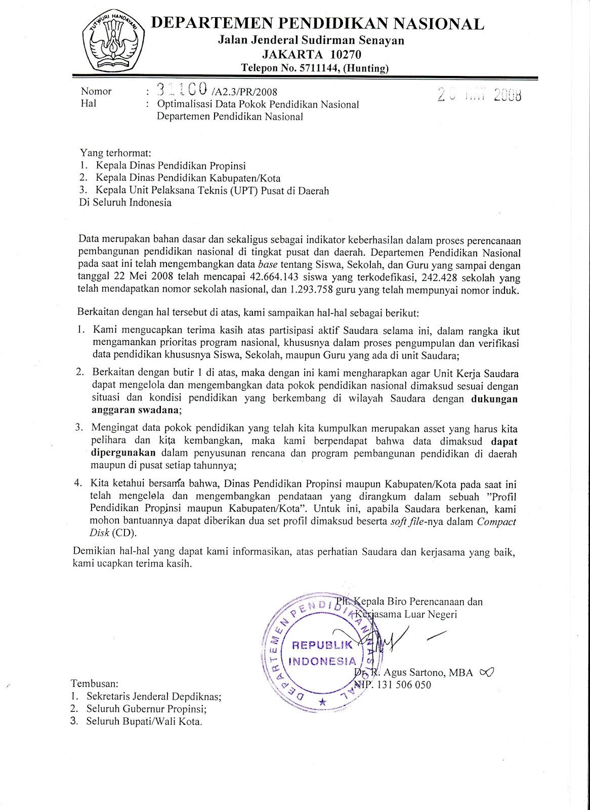 Penutup Surat Resmi Dalam Bahasa Inggris Surat Rasmi F